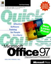Cover of: Quick Course(r) in Microsoft(r) Office 97 | Online Press Inc.