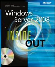 Cover of: Windows server 2008 inside out