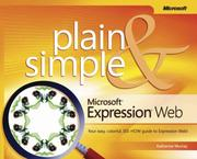 Cover of: Microsoft  Expression  Web Plain & Simple (Bpg - Plain & Simple) (Plain & Simple)