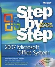 Cover of: 2007 Microsoft Office System step by step