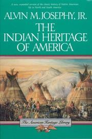 Cover of: The Indian heritage of America