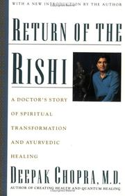 Cover of: Return of the rishi