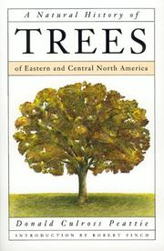 Cover of: A natural history of trees of eastern and central North America