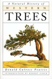 Cover of: A natural history of western trees