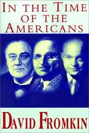 Cover of: In The Time Of The Americans   Part 1 Of 2