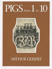 Cover of: Pigs from 1 to 10 | Arthur Geisert