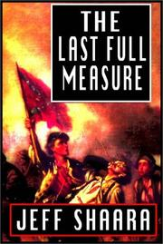 Cover of: The Last Full Measure - Part A