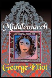 Cover of: Middlemarch   Part 1 Of 2