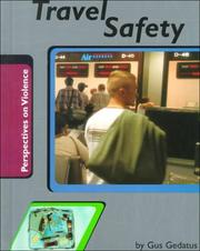 Cover of: Travel Safety (Perspectives on Violence) | Gustav Mark Gedatus