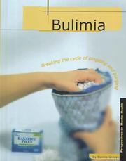 Cover of: Bulimia (Perspectives on Mental Health)
