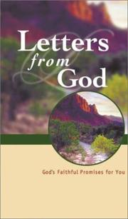 Cover of: Letters from God |