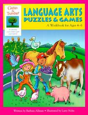 Cover of: Language Arts Puzzles & Games