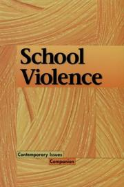 Cover of: Contemporary Issues Companion - School Violence