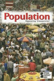 Cover of: Population | Karen F. Balkin