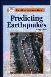 Cover of: Predicting Earthquakes (Kidhaven Science Library)