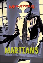 Cover of: Martians (Monsters)