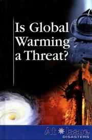 Cover of: Is Global Warming a Threat? (At Issue Series) |