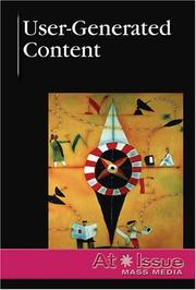 Cover of: User-Generated Content (At Issue Series) | Roman Espejo