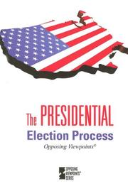 Cover of: The Presidential Election Process