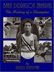 Cover of: Babe Didrikson Zaharias: the making of a champion