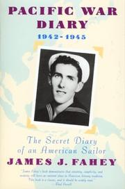 Pacific war diary, 1942-1945 by James J. Fahey