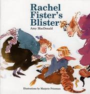 Cover of: Rachel Fister's Blister | Amy MacDonald
