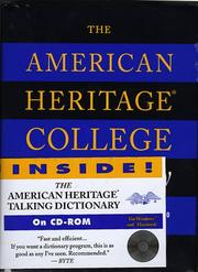 Cover of: The American Heritage College Dictionary (Book and CD Edition) | Editors of The American Heritage Dictionaries