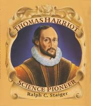 Cover of: Thomas Harriot, science pioneer