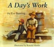 Cover of: A Day's Work