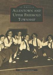 Cover of: Allentown & Upper Freehold Township