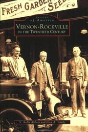 Cover of: Vernon-Rockville in the Twentieth Century   (CT)  (Images of America) | S. Ardis Abbott