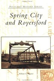 Cover of: Spring City and Royersford  (PA) | William C. Brunner