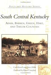 Cover of: South Central Kentucky | Carl Howell and
