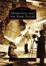 Cover of: Homestead and the Steel Valley (Images of America: Pennsylvania) | Daniel J. Burns