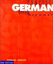 Cover of: Concise German review grammar