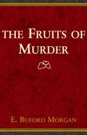 Cover of: The Fruits of Murder | Budford Morgan