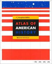 Cover of: Atlas of American history |
