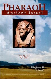 Cover of: Pharaoh+Ancient Israel+'Ich'