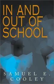 Cover of: In and Out of School
