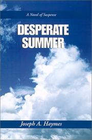Cover of: Desperate Summer | Joseph Haymes