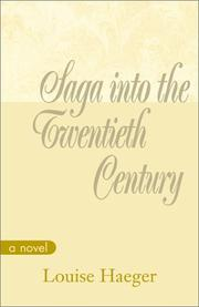 Cover of: Saga into the Twentieth Century