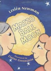 Cover of: Matzo ball moon | Lesléa Newman