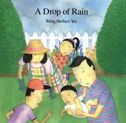 Cover of: A drop of rain