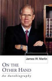 Cover of: On the Other Hand | James W. Marlin