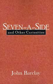 Cover of: Seven-a-Side and Other Curiosities