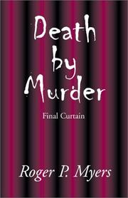 Cover of: Death by Murder