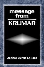 Cover of: Message From Krumar | Jeanie Burris Sailors