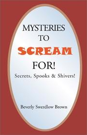 Cover of: Mysteries to Scream For!