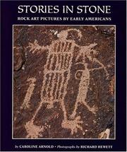 Cover of: Stories in stone: rock art pictures by early Americans