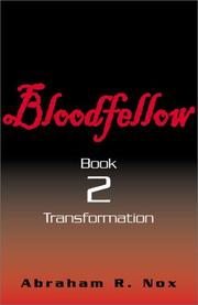 Cover of: Bloodfellow, Book Two (Bloodfellow)